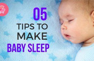 5 Tips to Make Baby Sleep All Night